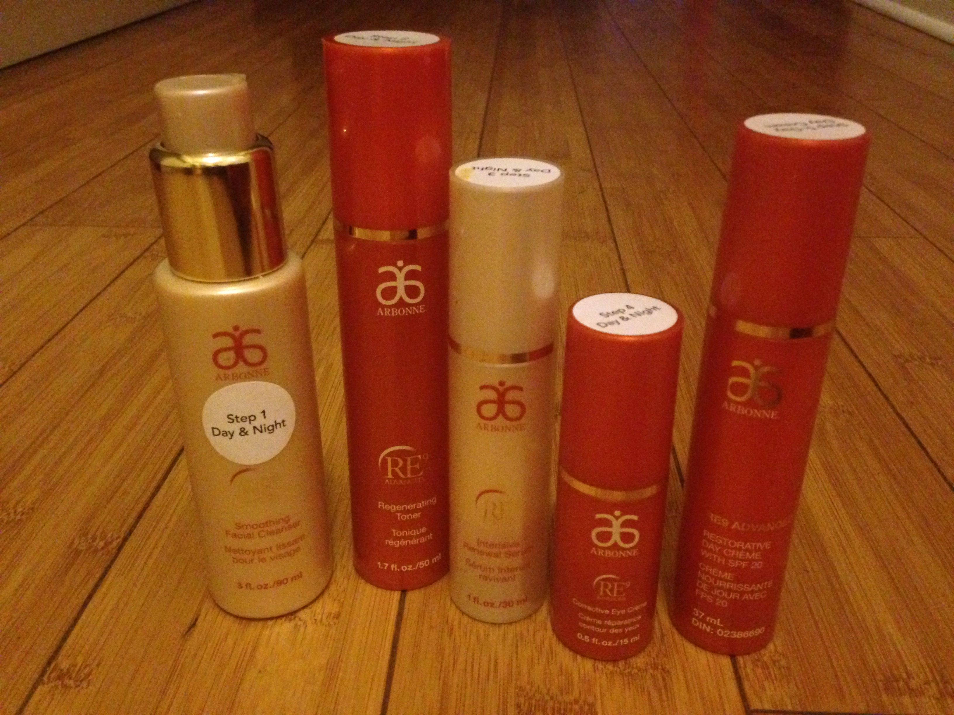 Vegan product review: Arbonne skin care system
